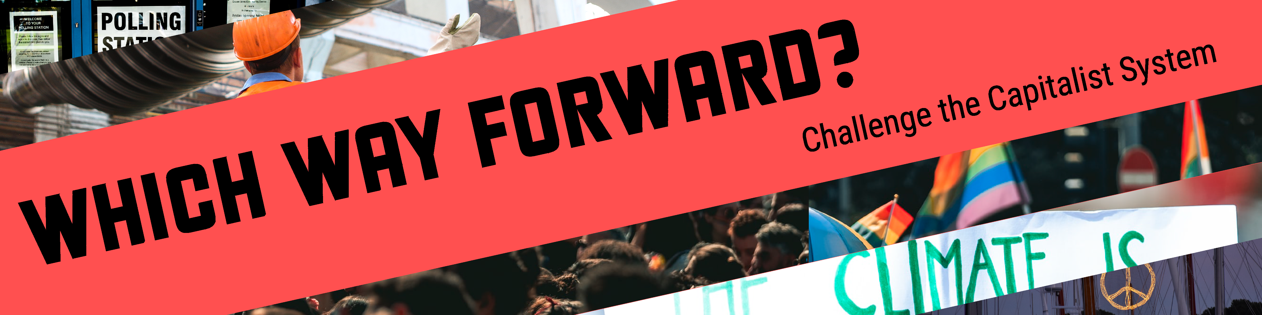 Logo banner for Which Way Forward